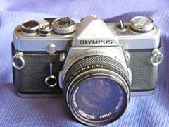 デジタル一眼レフを定年後の趣味としてはじめる:オリンパス(OLYMPUS)OM-1(50mm F1.8の標準レンズ)